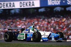 Benetton B196 Renault