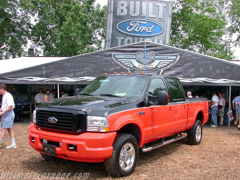 Ford F 350 >> 2003 F350 Super-Duty Harley-Davidson - Ultimatecarpage.com - Images, Specifications and Information