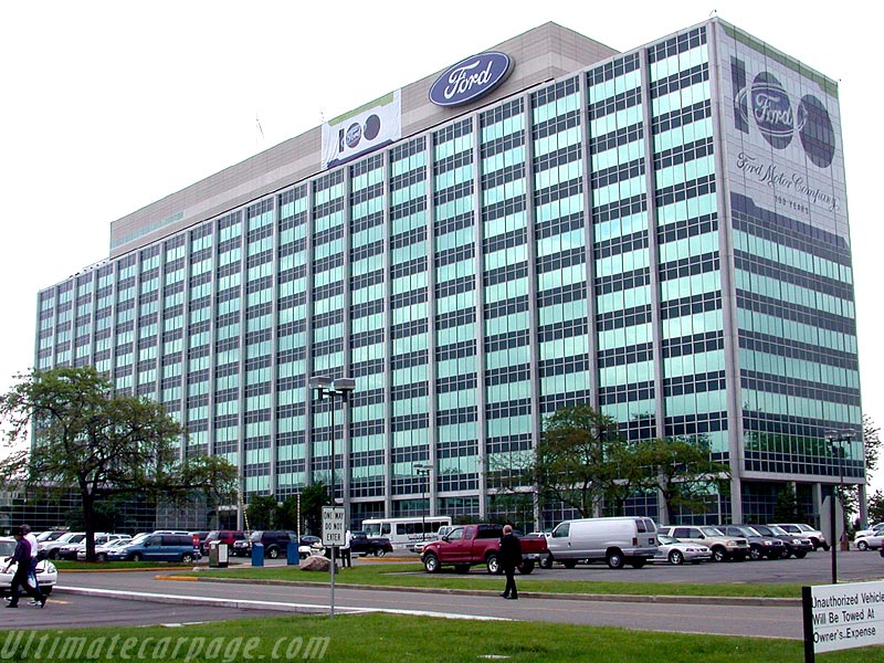 Ford world headquarters images for Ford motor company in dearborn michigan