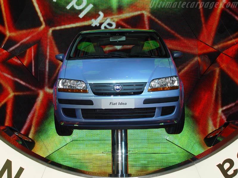 2003 Fiat Idea 1.4 16v Emotion