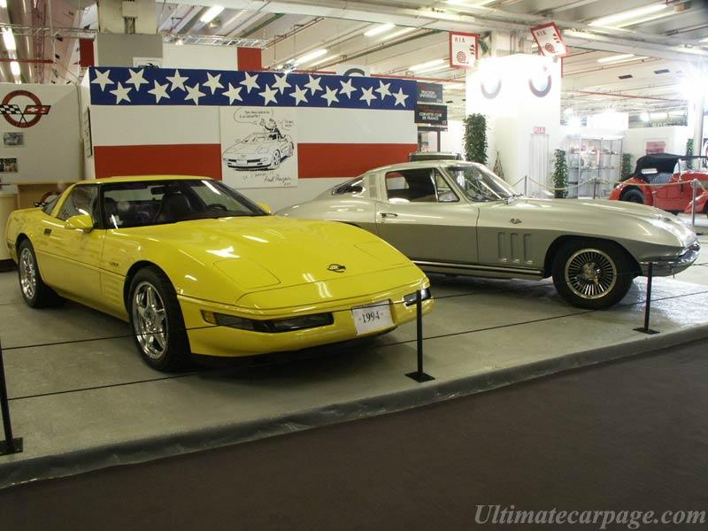 Chevrolet Corvette C4 ZR1 and C2 Sting Ray ...