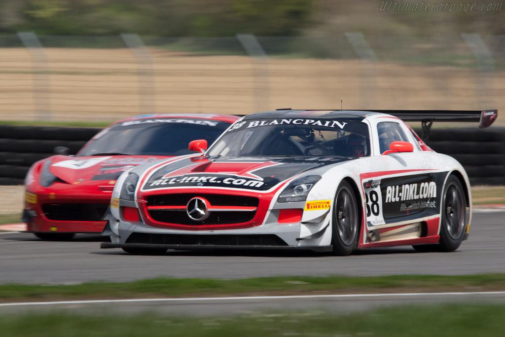 Mercedes Benz Sls Amg Gt3 2012 Coupes De Paques