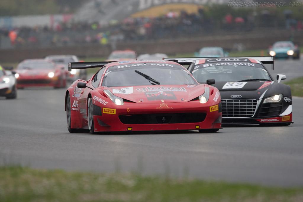 Ferrari 458 Italia GT3    - 2012 Coupes de Paques