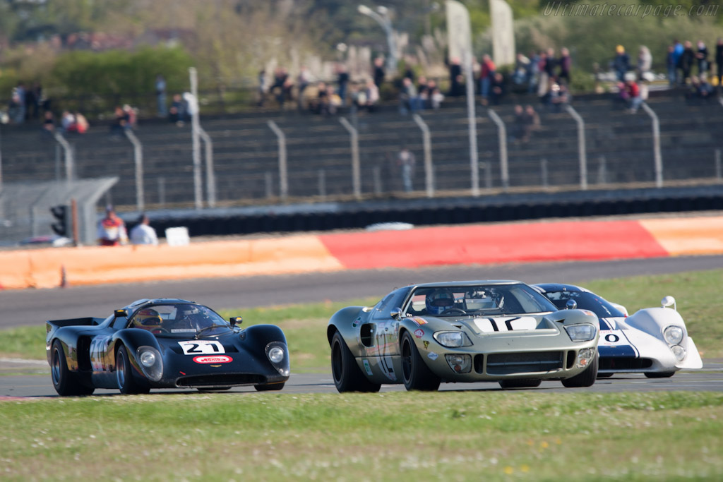 Ford GT40 - Chassis: GT40P/1078   - 2012 Coupes de Paques