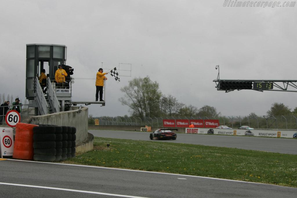 Qualifying Race Finish    - 2012 Coupes de Paques