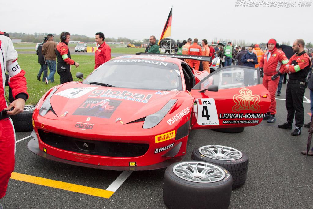 Qualifying Race Grid    - 2012 Coupes de Paques