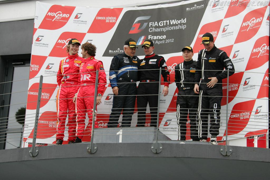 Race 1 Podium    - 2012 Coupes de Paques