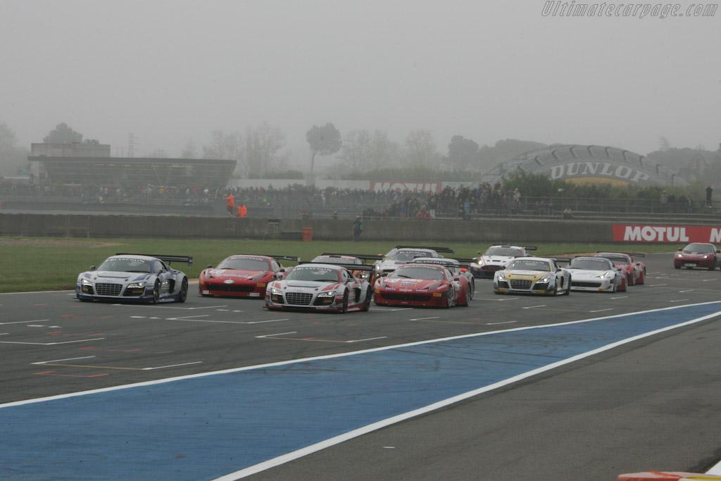 Race 2 Start    - 2012 Coupes de Paques