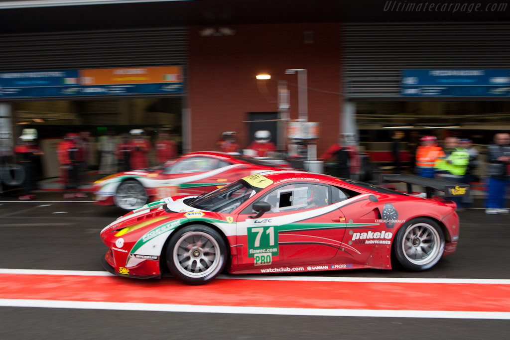 AF Corse stop    - 2012 WEC 6 Hours of Spa-Francorchamps