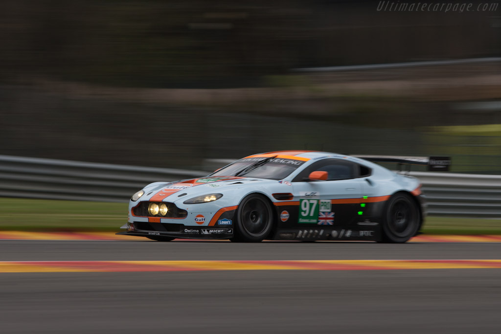 Aston Martin V8 Vantage GTE - Chassis: GTE-001   - 2012 WEC 6 Hours of Spa-Francorchamps
