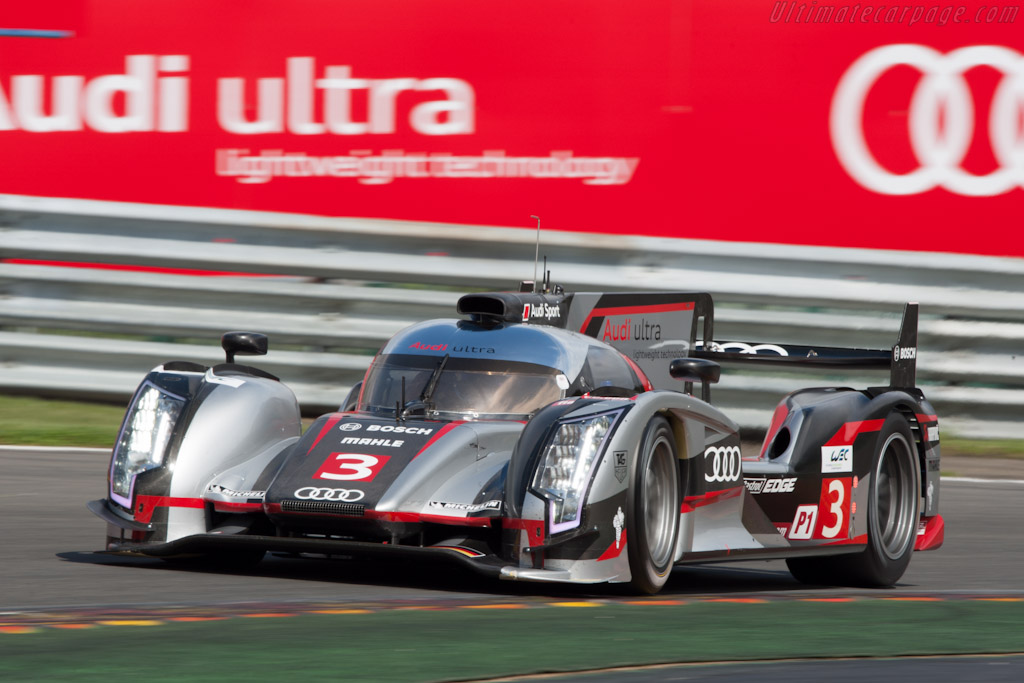 Audi R18 Ultra 2012 Wec 6 Hours Of Spa Francorchamps