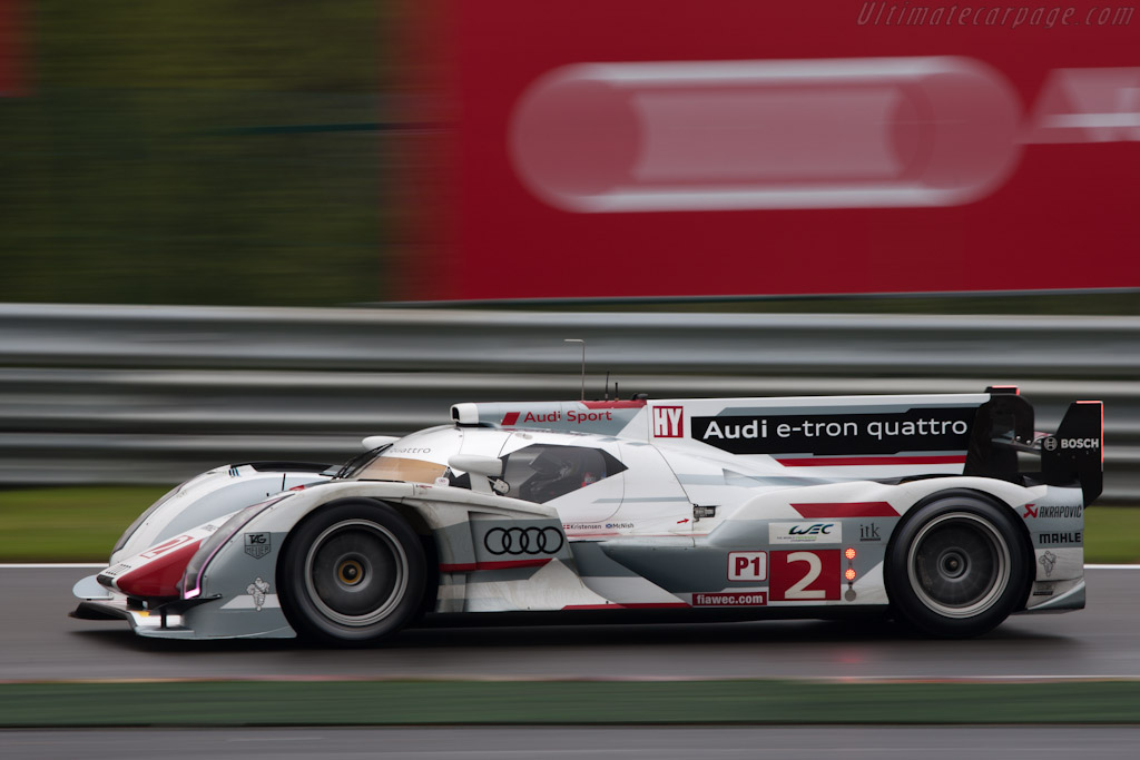 Audi R18 E Tron Quattro 2012 Wec 6 Hours Of Spa