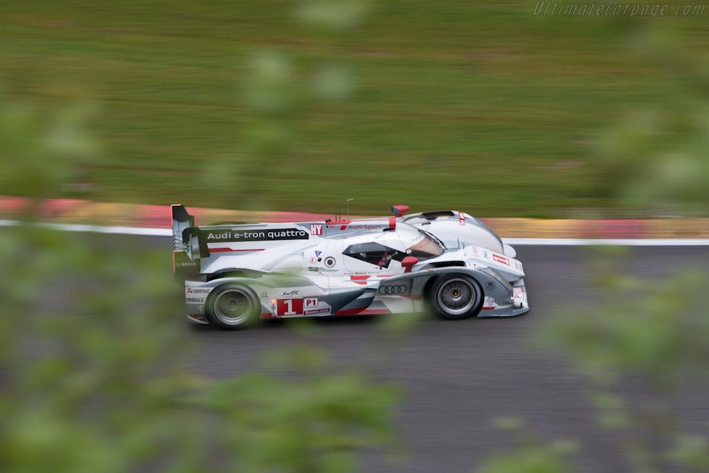 Audi R18 e-tron quattro    - 2012 WEC 6 Hours of Spa-Francorchamps