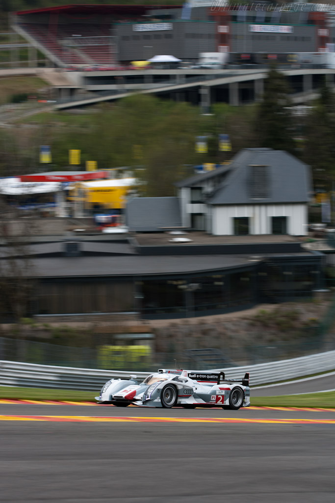 Audi R18 e-tron quattro    - 2012 WEC 6 Hours of Spa-Francorchamps