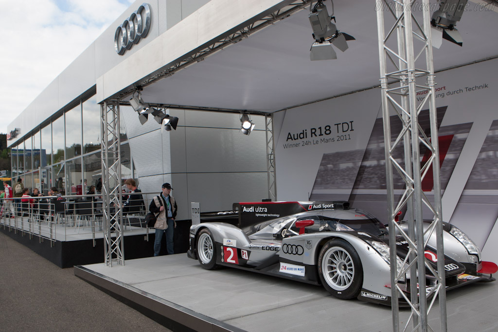 Audi's ever modest hospitality    - 2012 WEC 6 Hours of Spa-Francorchamps