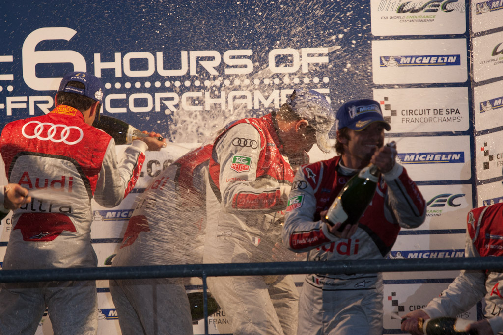 Champagne!    - 2012 WEC 6 Hours of Spa-Francorchamps