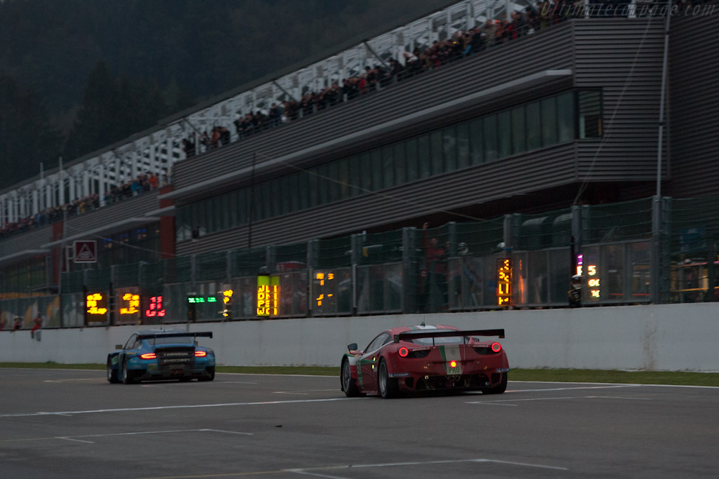 Close GTE Pro finish    - 2012 WEC 6 Hours of Spa-Francorchamps
