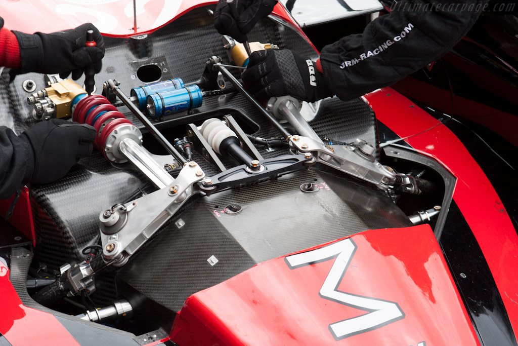Damper changes on the JRM HPD    - 2012 WEC 6 Hours of Spa-Francorchamps