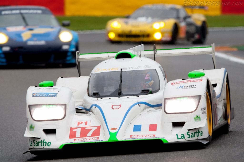 Dome S102.5 Judd - Chassis: S102-003   - 2012 WEC 6 Hours of Spa-Francorchamps