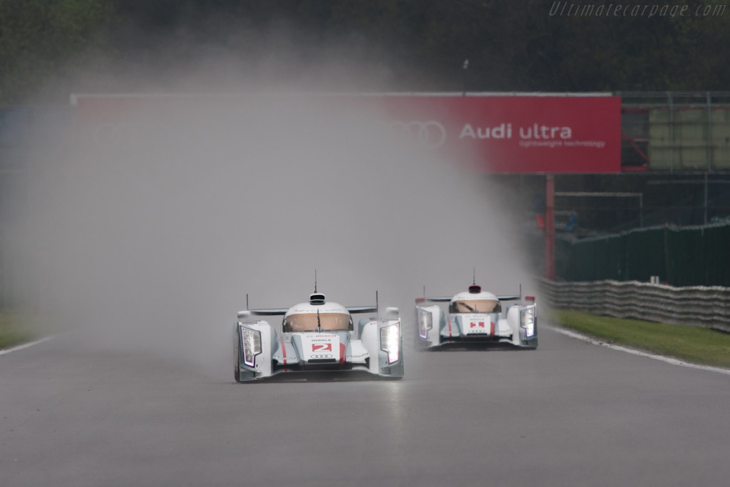 Early leaders    - 2012 WEC 6 Hours of Spa-Francorchamps