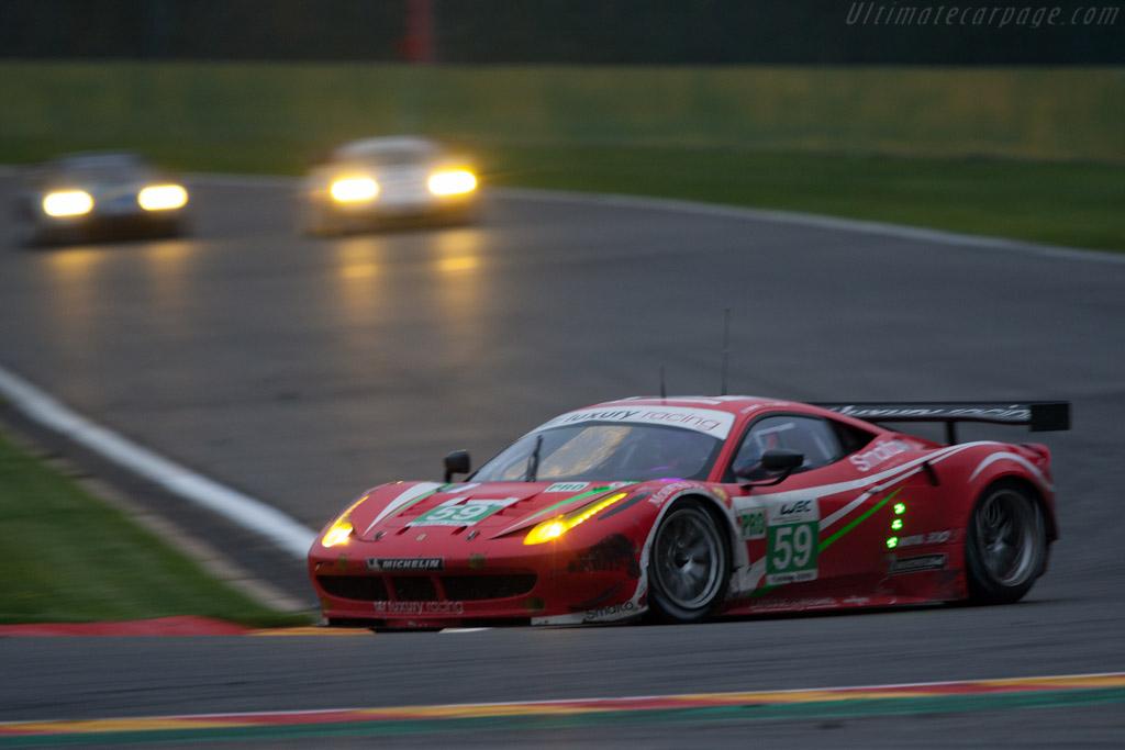 Ferrari 458 Italia GT2    - 2012 WEC 6 Hours of Spa-Francorchamps