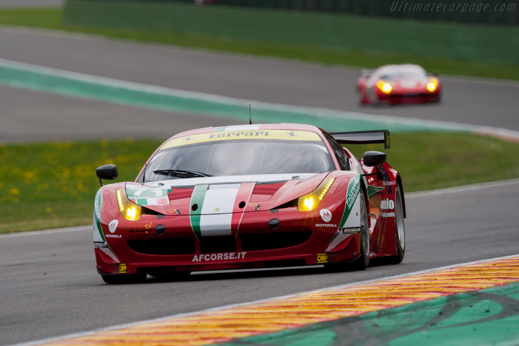 Ferrari 458 Italia GT2    - 2012 WEC 6 Hours of Spa-Francorchamps