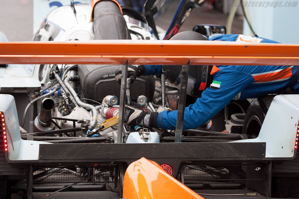 Gearbox adjustments    - 2012 WEC 6 Hours of Spa-Francorchamps