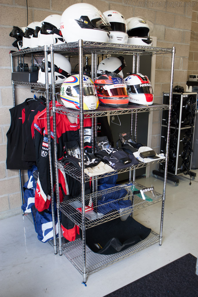Greaves' dressing room    - 2012 WEC 6 Hours of Spa-Francorchamps