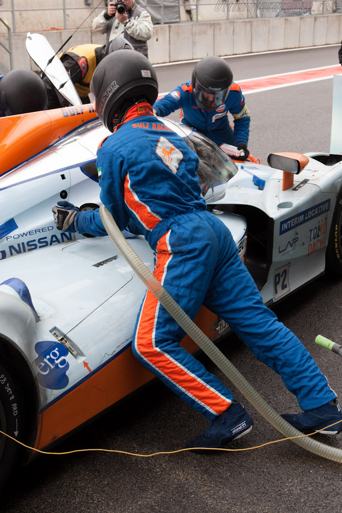 Gulf Racing Stop    - 2012 WEC 6 Hours of Spa-Francorchamps