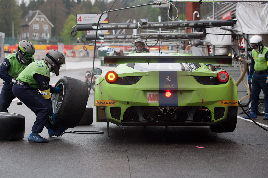 Krohn Ferrari    - 2012 WEC 6 Hours of Spa-Francorchamps