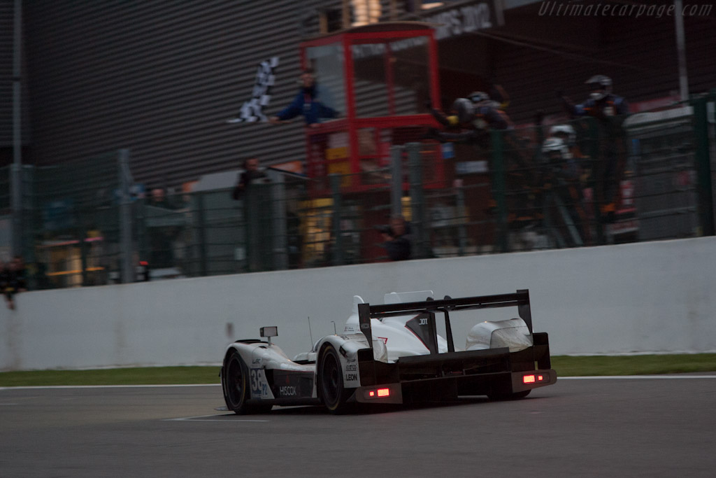 LMP2 winners    - 2012 WEC 6 Hours of Spa-Francorchamps