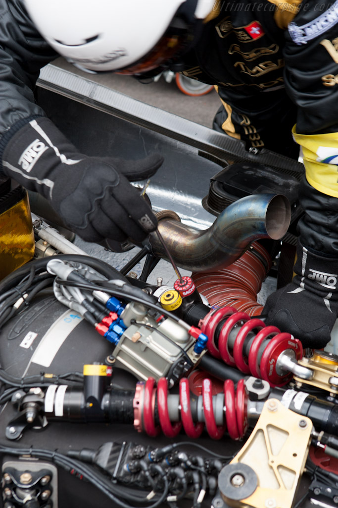 More damper changes    - 2012 WEC 6 Hours of Spa-Francorchamps