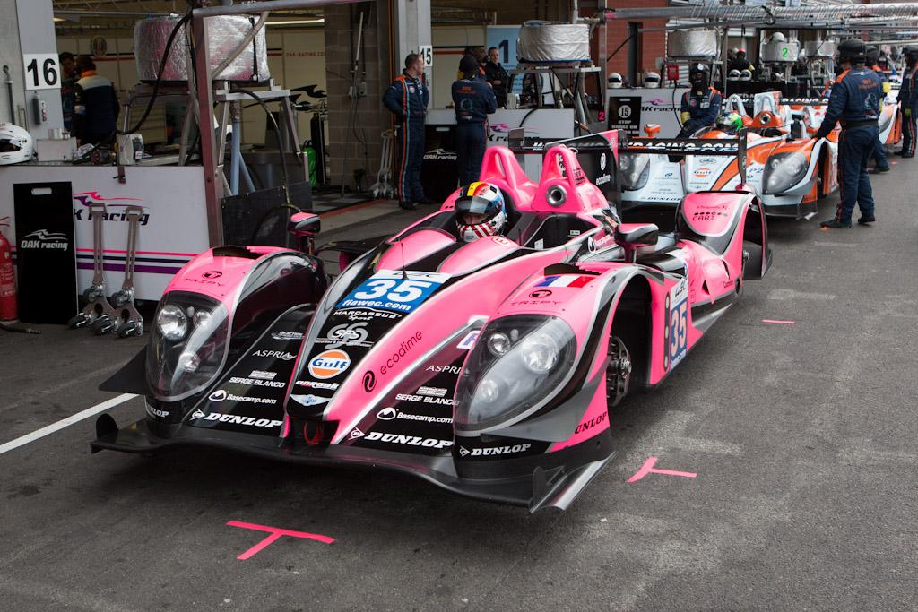 Oak Racing's fleet    - 2012 WEC 6 Hours of Spa-Francorchamps