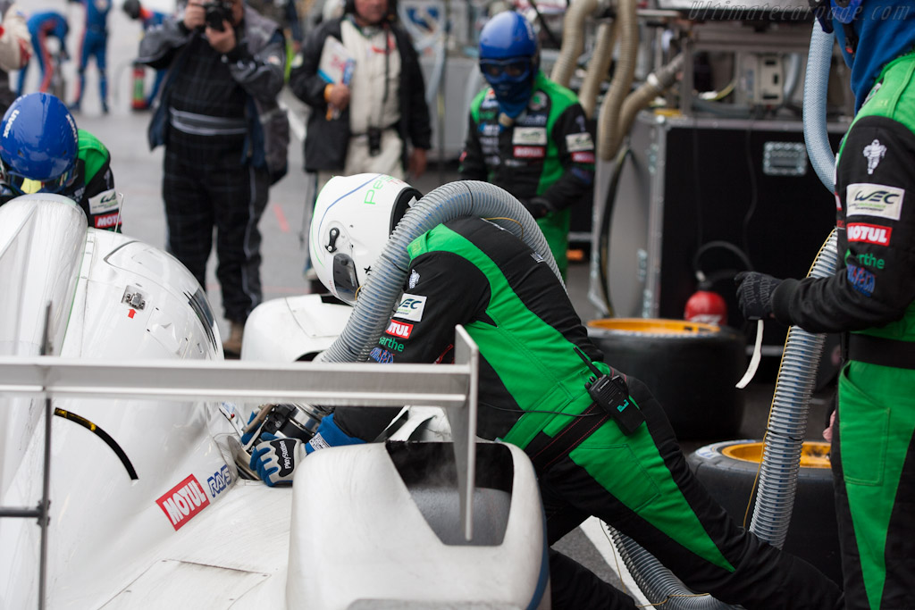 Pescarolo stop    - 2012 WEC 6 Hours of Spa-Francorchamps