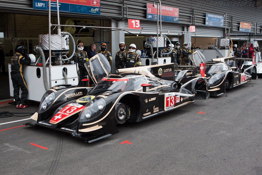 Rebellion's Lolas    - 2012 WEC 6 Hours of Spa-Francorchamps