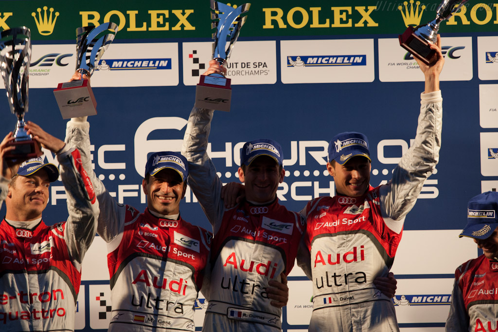 The winners    - 2012 WEC 6 Hours of Spa-Francorchamps