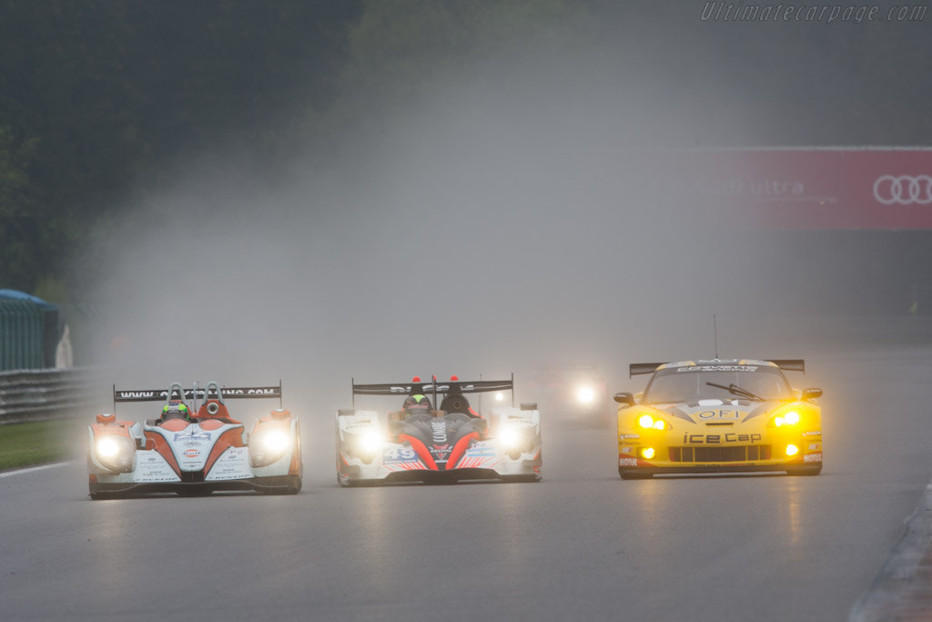 Three abreast    - 2012 WEC 6 Hours of Spa-Francorchamps