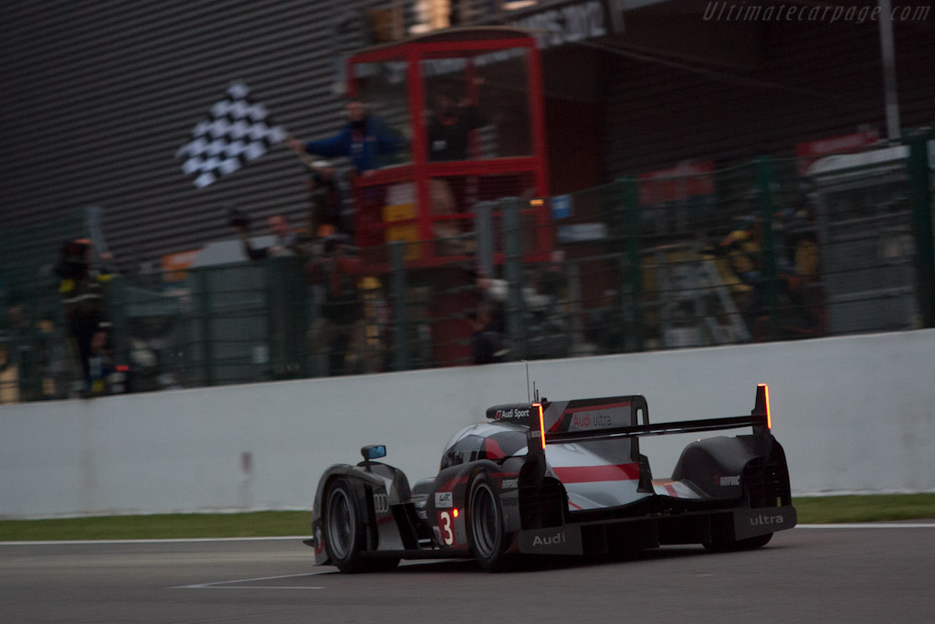 Winning Audi    - 2012 WEC 6 Hours of Spa-Francorchamps