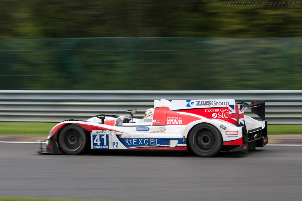 Zytek Z11SN Nissan    - 2012 WEC 6 Hours of Spa-Francorchamps