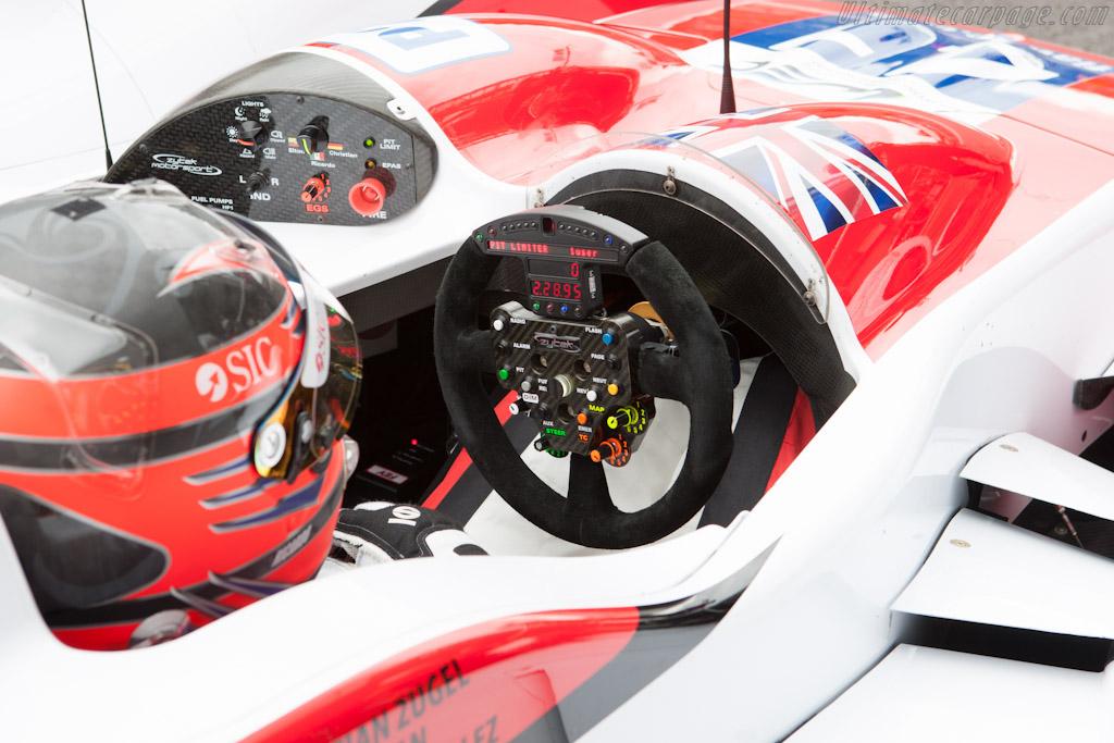Zytek dashboard    - 2012 WEC 6 Hours of Spa-Francorchamps