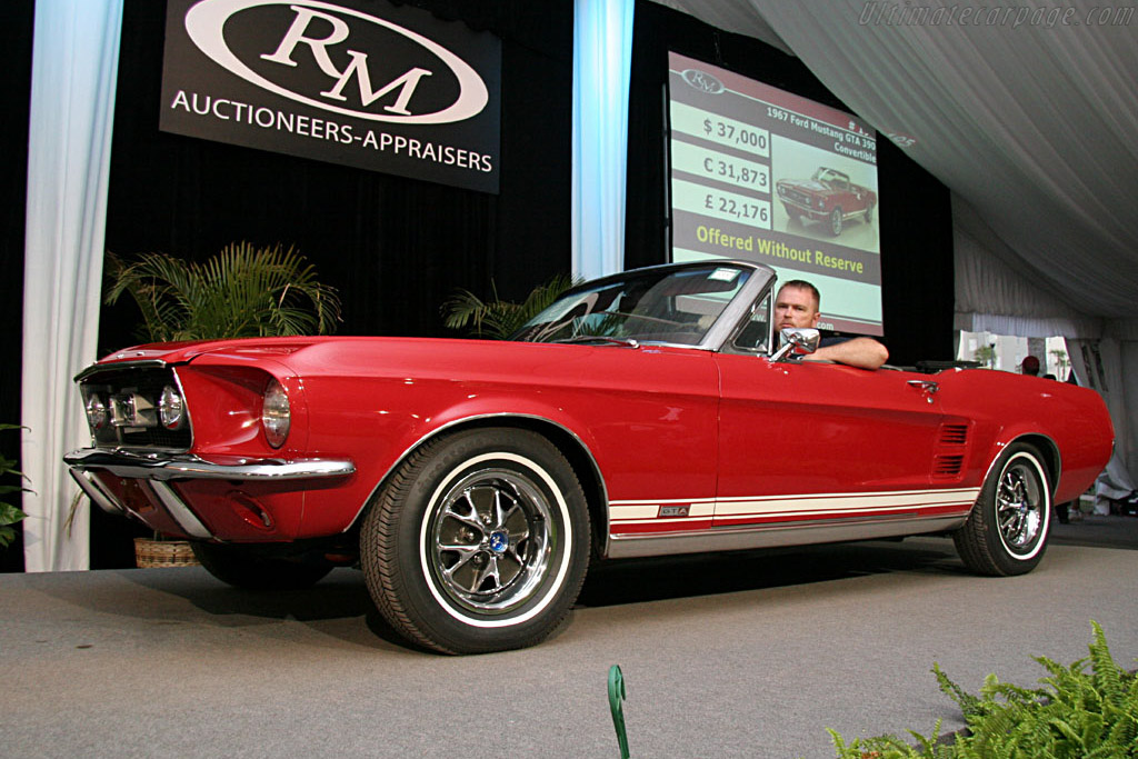 Ford Mustang Gt 390 Chassis 7503s170703 2006 Amelia Island Concours D Elegance