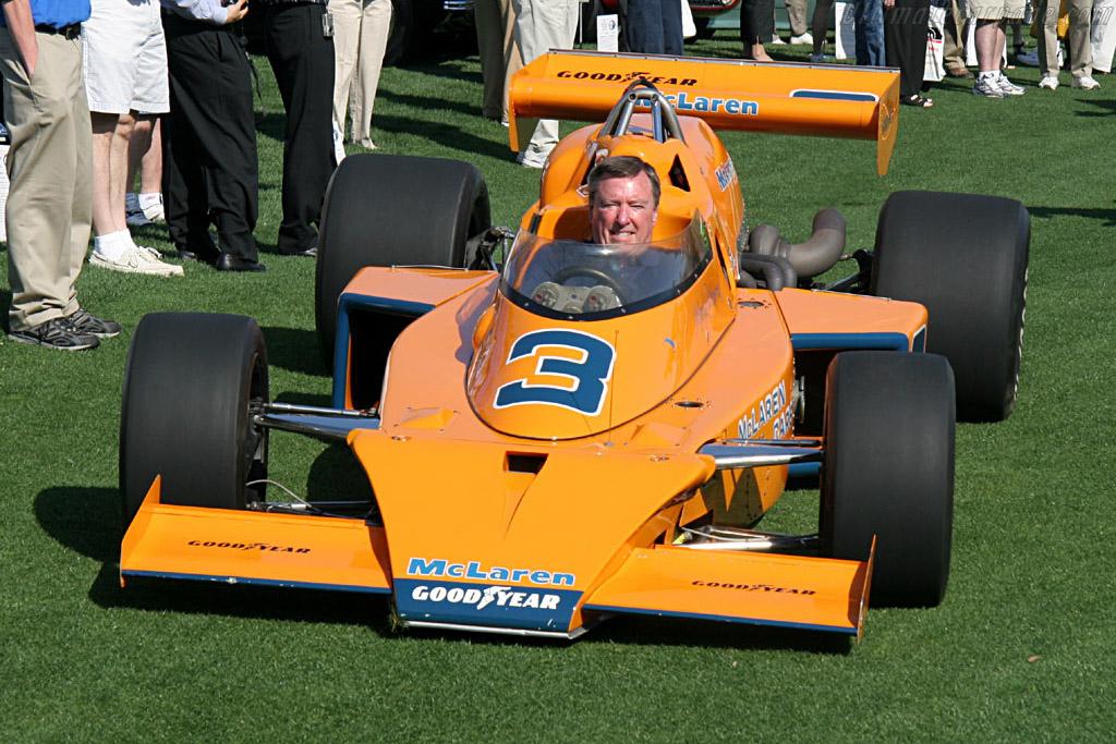 McLaren M16 - Chassis: M16C/5 - Entrant: Patrick Ryan  - 2006 Amelia Island Concours d'Elegance