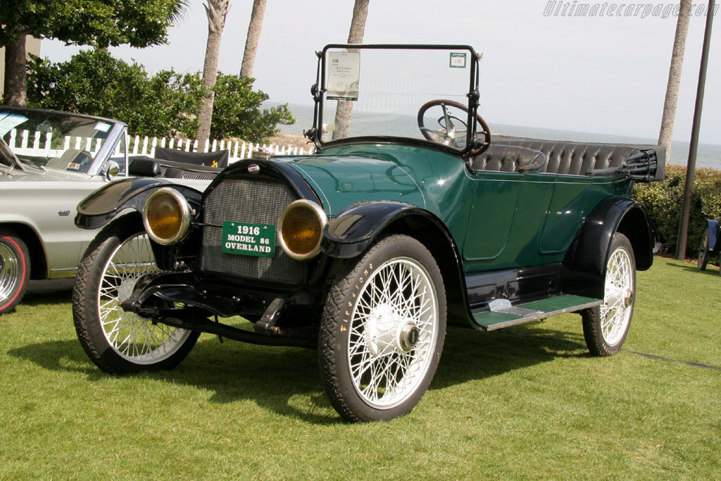 Overland Model 86 Touring - Chassis: 9620   - 2006 Amelia Island Concours d'Elegance
