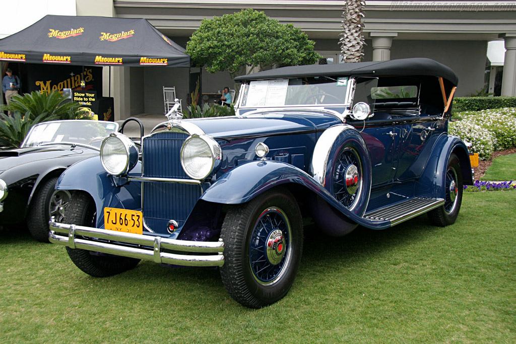 Packard Deluxe Eight Sport Phaeton - Chassis: 190345   - 2006 Amelia Island Concours d'Elegance
