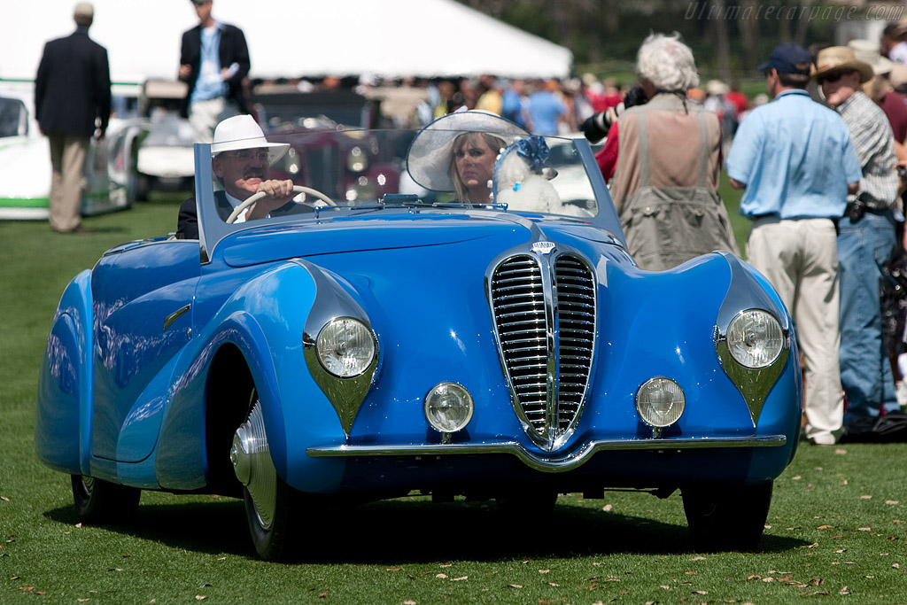 Delahaye 135 MS Faget-Varnet Cabriolet - Chassis: 801077   - 2009 Amelia Island Concours d'Elegance