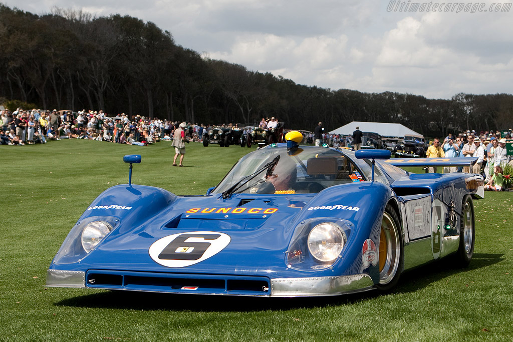 Ferrari 512 M - Chassis: 1040 - Driver: David Hobbs  - 2009 Amelia Island Concours d'Elegance