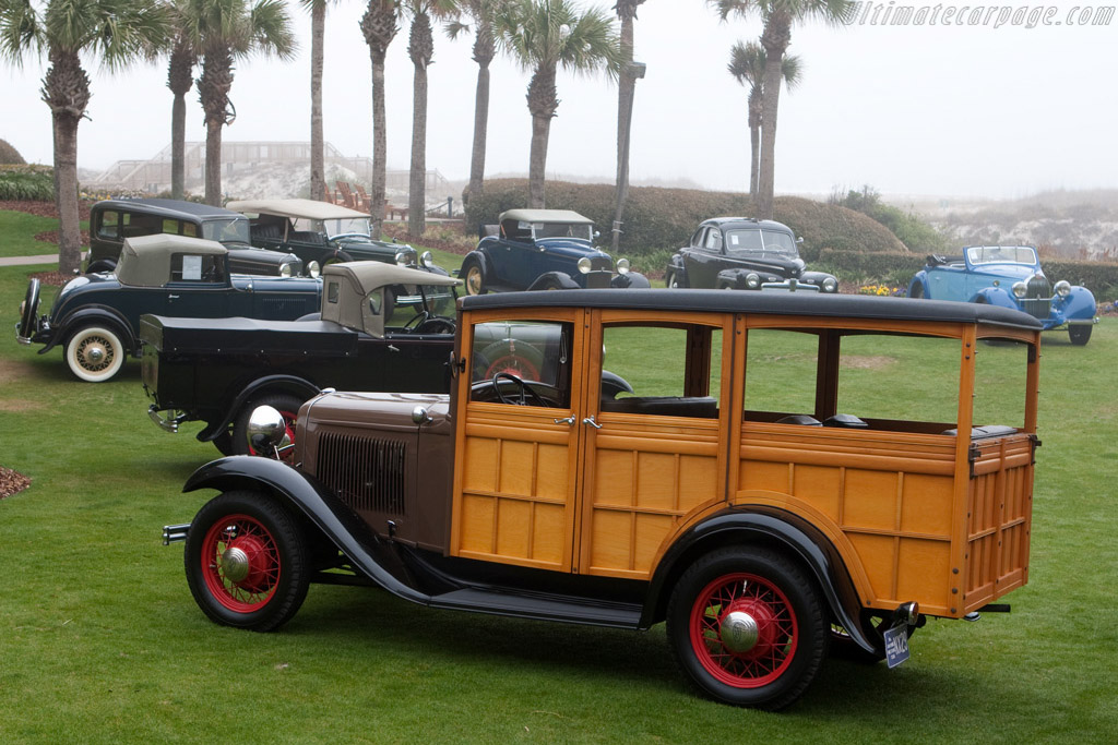 Ford Model A Station Wagon - Chassis: B5134797   - 2009 Amelia Island Concours d'Elegance