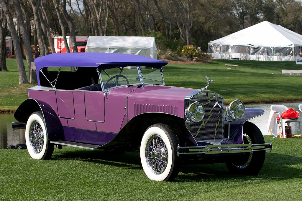 Isotta Fraschini Tipo 8A Boattail Tourer    - 2009 Amelia Island Concours d'Elegance