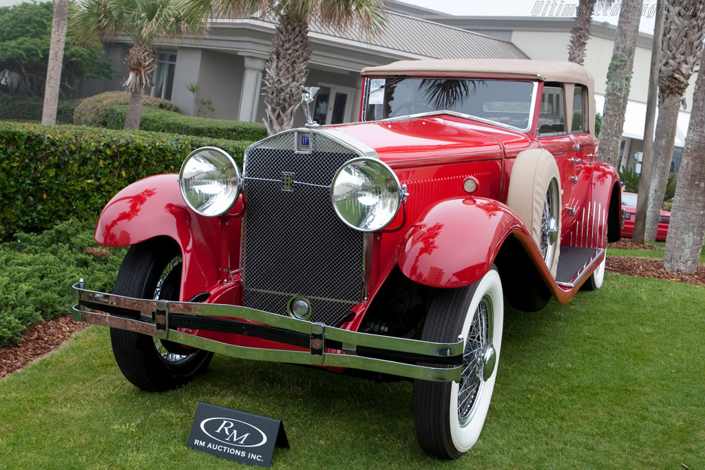 Isotta Fraschini Tipo 8A Castagna Convertible Sedan - Chassis: 1578   - 2009 Amelia Island Concours d'Elegance