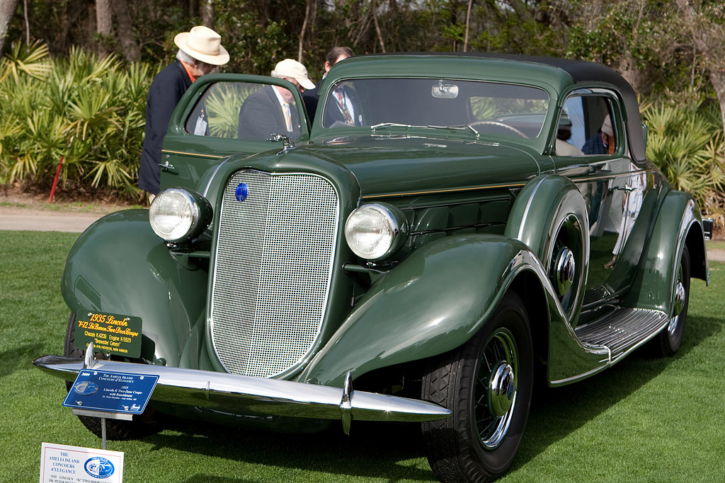Lincoln K Two-Door Coupe    - 2009 Amelia Island Concours d'Elegance